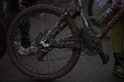 Dreckige Bikes 1