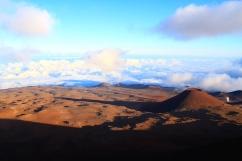 Vulkane über den Wolken